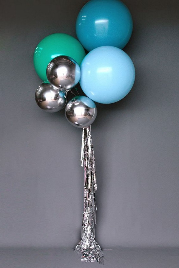 Pretty balloon decoration ideas for creative juice