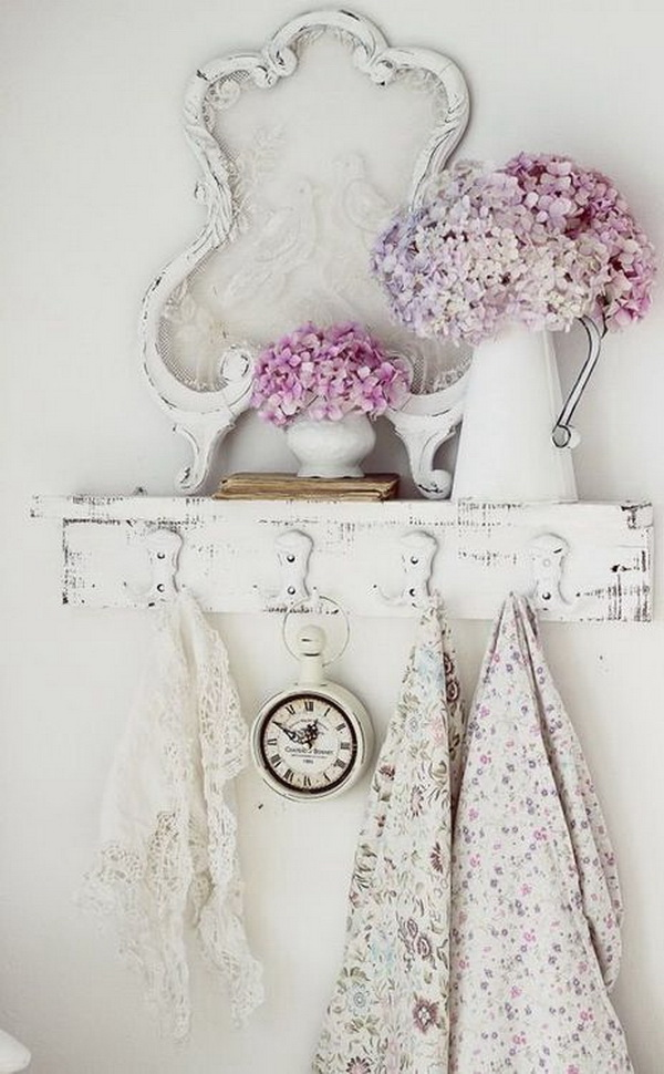 25 pretty shabby chic decoration ideas for creative juice for Shabby chic frames diy