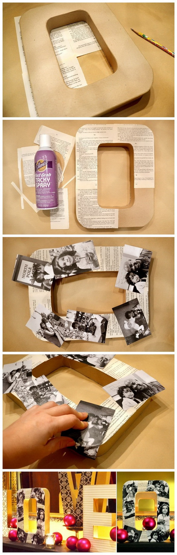28 Creative Handmade Photo Crafts With Tutorials For Creative Juice