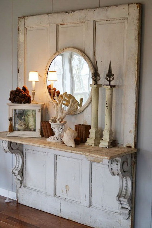 Rustic Cottage Foyer : Sweet cottage shabby chic entryway decor ideas for