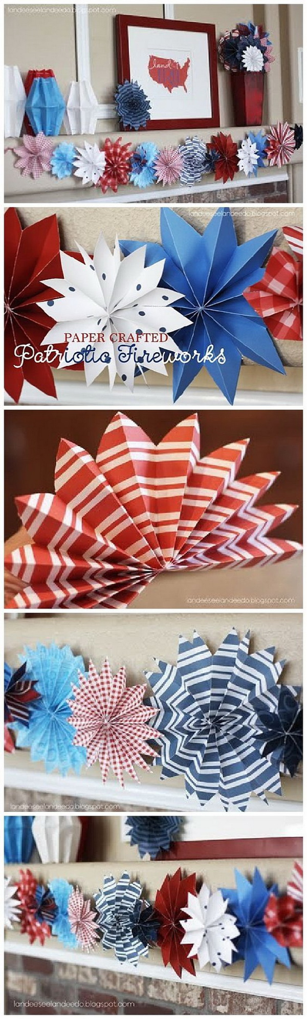 Diy Patriotic Crafts For 4th Of July Decoration For Creative Juice