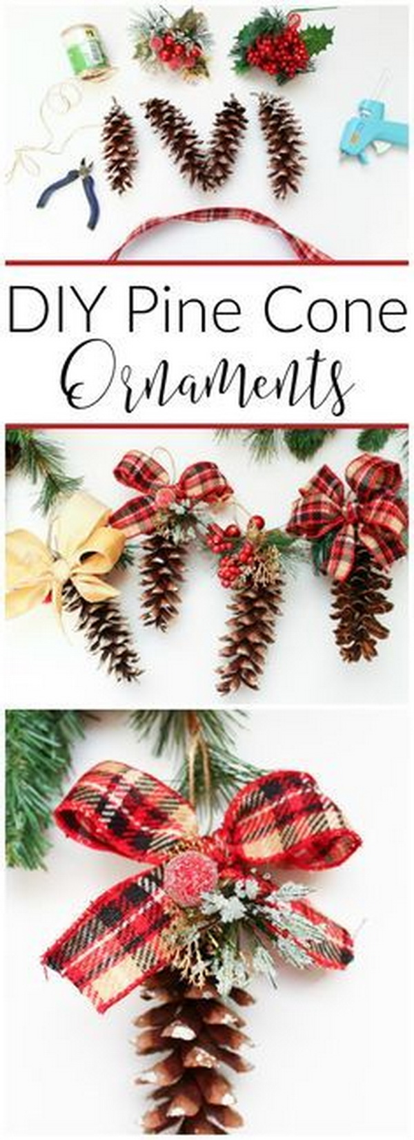 Diy Christmas Ornaments 20 Easy Last Minute Diy Christmas Decorations For Creative Juice