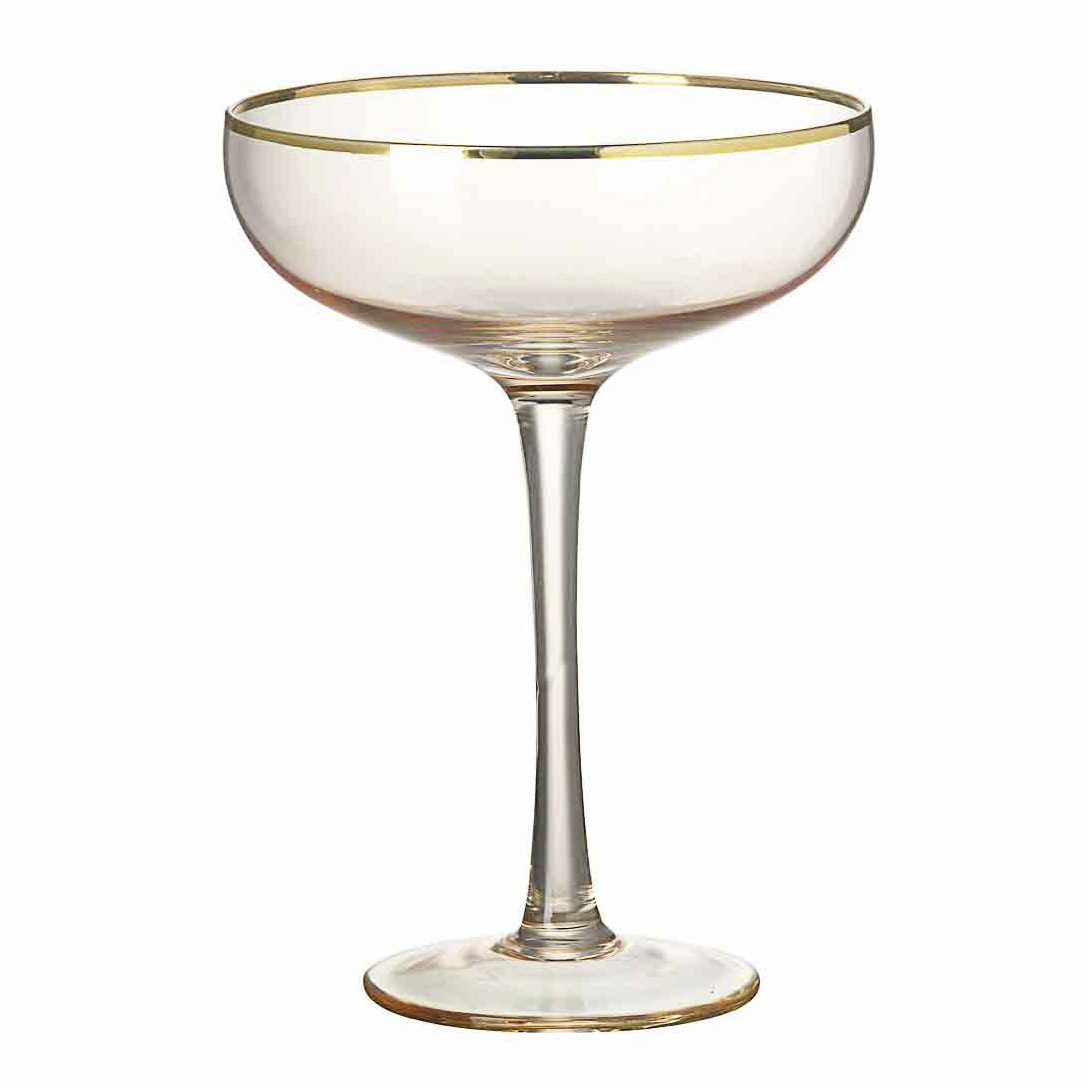 Champagne Coupe Blush Champagne Coupe Set