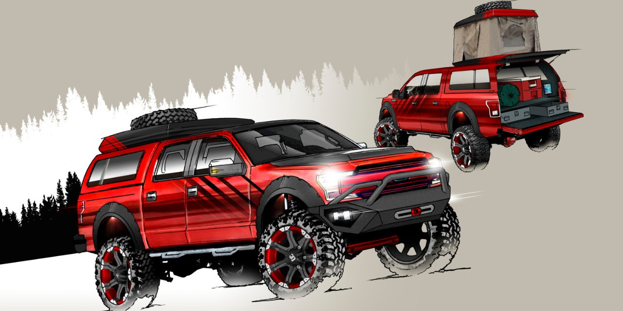 Are39s Custom 2018 Ford F 150 Sema 2017 Ford Authority