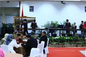 Musik Angklung dalam acara Silaturahim Nasional Kedua FORDEBI