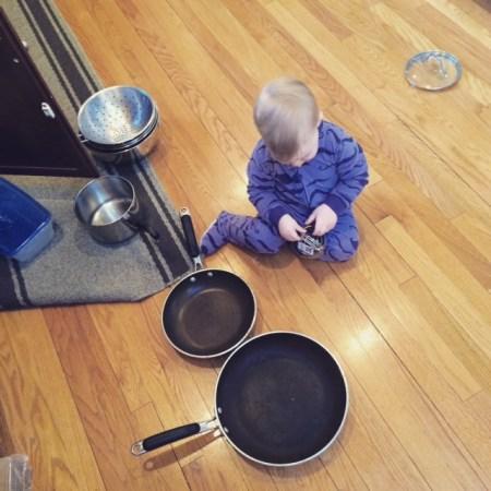 pots and pans FTW