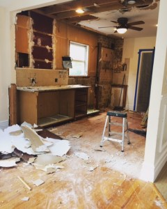 kitchen renovation 1