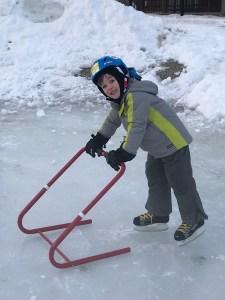 Aidan skating
