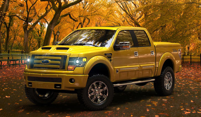 Big Yellow Mirror 2013 2014 Ford F 150 Tonka Edition