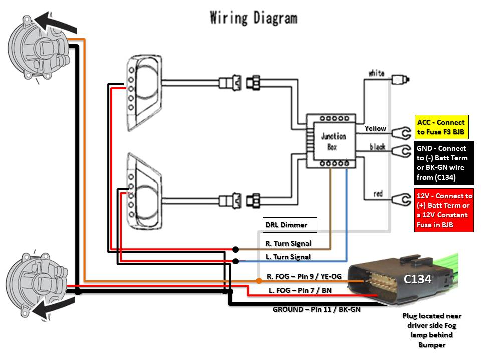 DIAGRAM 2009 Ford Fusion Headlamp Wiring Diagram FULL Version HD