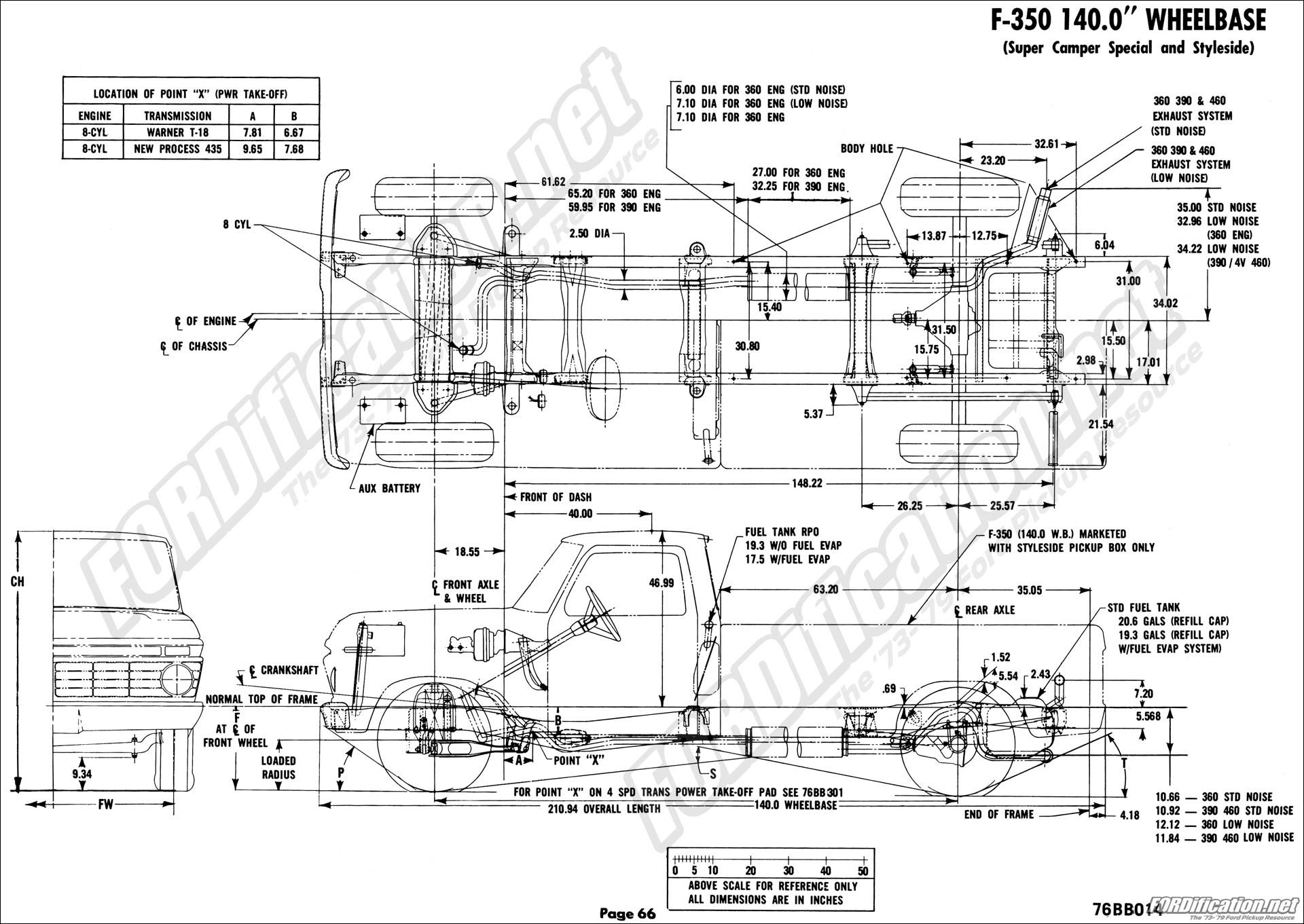 f100 tail light wiring diagram for 76