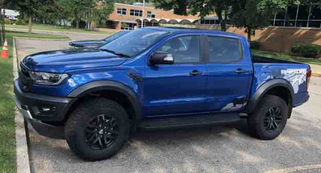 what is the length of the 2021 ford ranger
