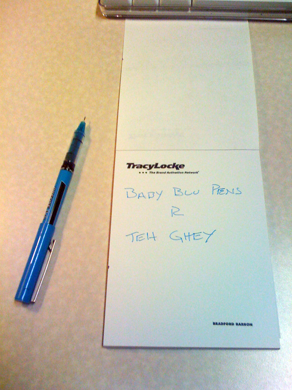 Baby Blue Pen What Pens Do While You Re Away Fordseyeview