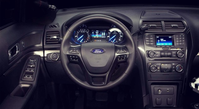 Ford Focus Interieur 2015 2020 Ford Explorer Police Interceptor Interior - Ford Tips