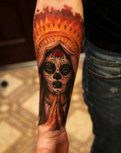 gallery studio Star tattoo: forearm sleeve tattoo ideas