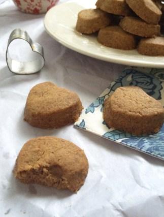 Gluten free, grain free, vegan chickpea flour cardamom cookies - yummy with minimal ingredients!