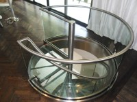 Stainless Steel and Glass Spiral Staircase - Foreman ...