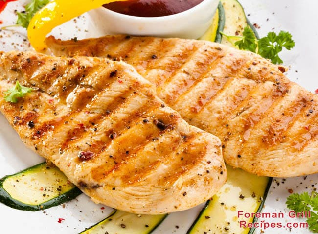 Easy Italian Dressing Grilled Chicken - Foreman Grill Recipes