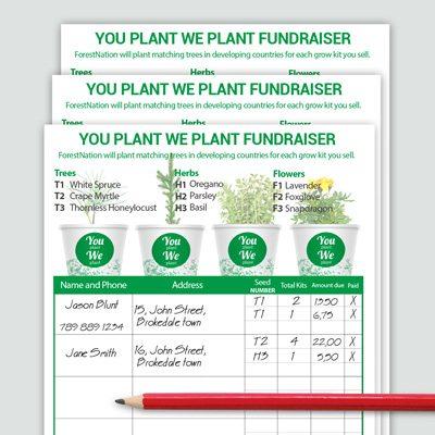 Fundraiser Forms - ForestNation