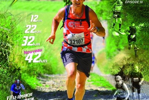 Affiche Fores'TRAIL 2016