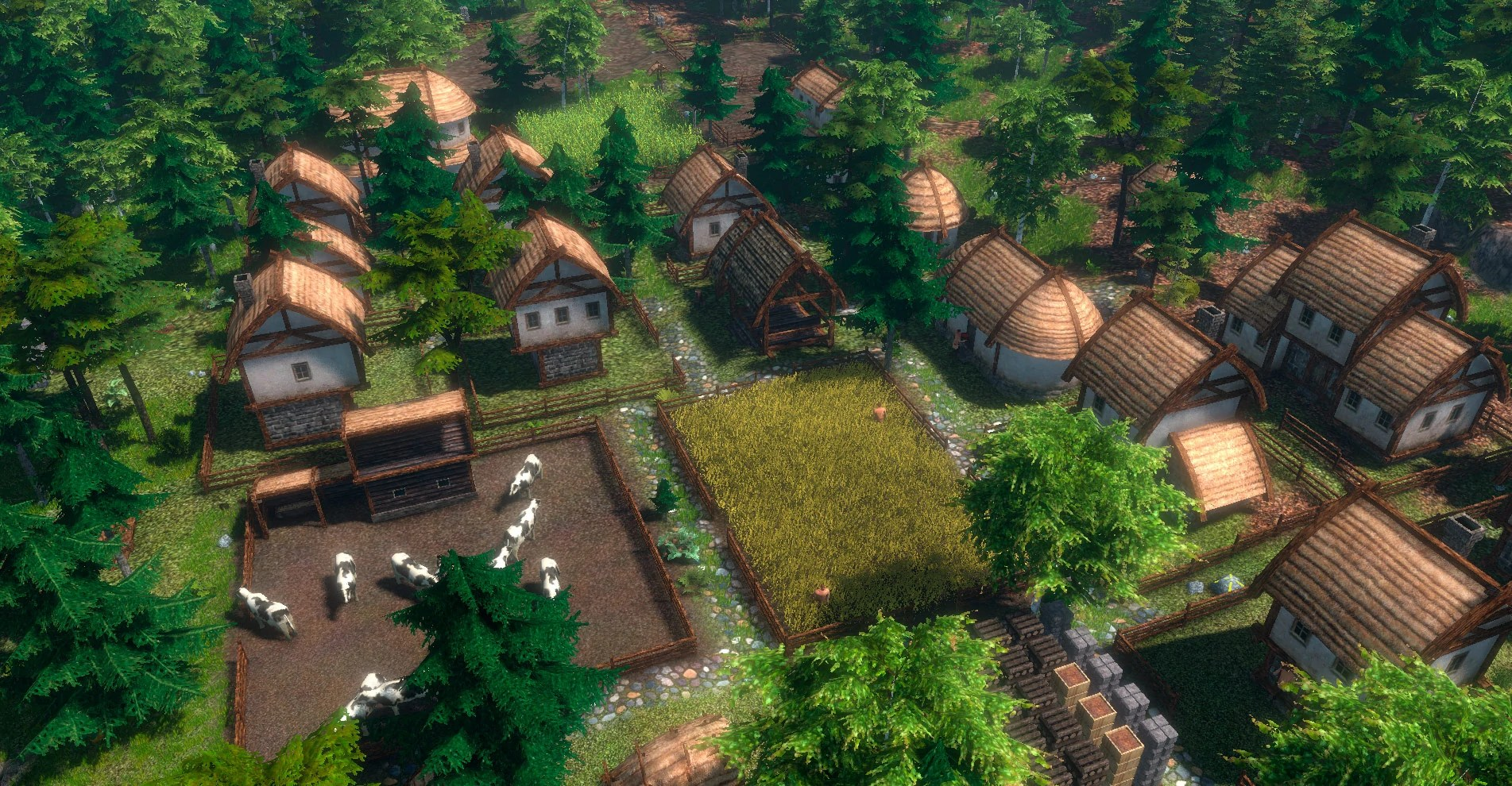 Pixel Forest Wallpaper Cute Official Life Is Feudal Forest Village Wiki