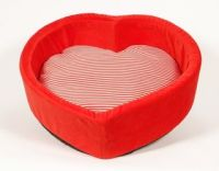 Keeping it Realtor: Heart shaped doggy bed.
