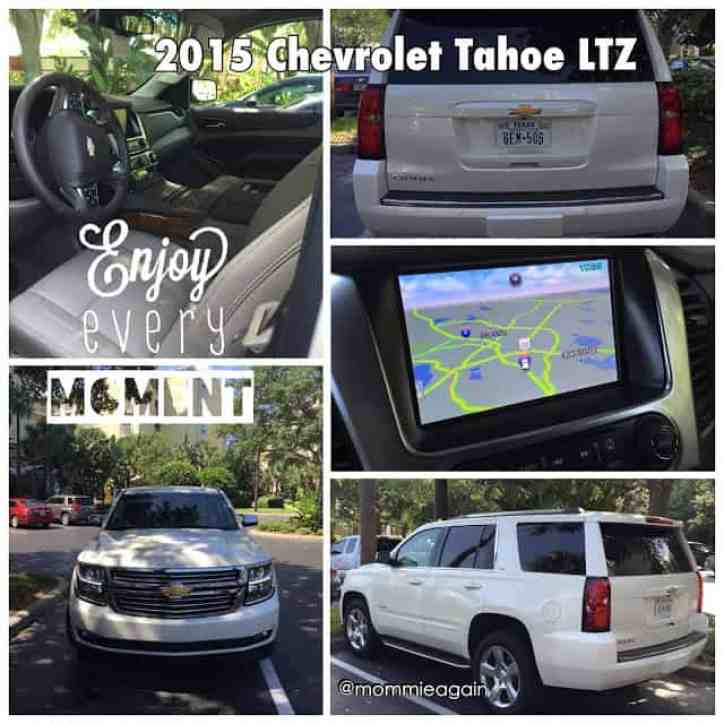 front seat, front of car, side view, navigation system, back view 2015 Chevy Tahoe LTZ