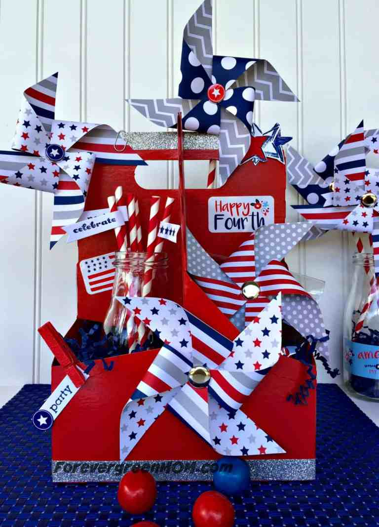 Recycled_4th_of_July_Centerpiece