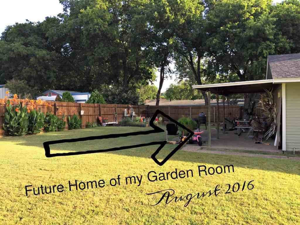 New_Garden_Room-announcement showing outside where it will be built