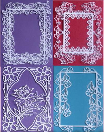 CraftROBO/Cameo Template 4 x Flower Frames - £699
