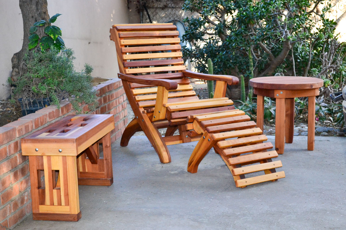 Garden Seats Benches Redwood Lighthouse Garden Bench Custom Wood Seating