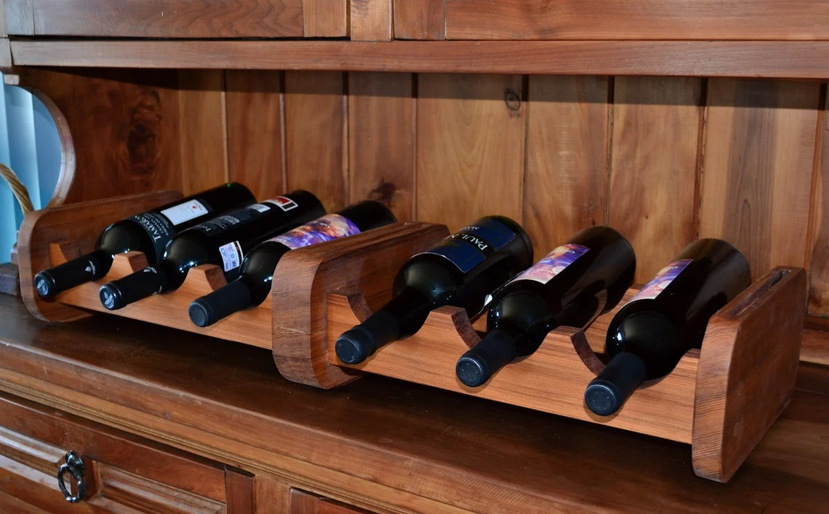 Wooden Bottle Rack Redwood Wine Rack Wood Wine Rack Forever Redwood