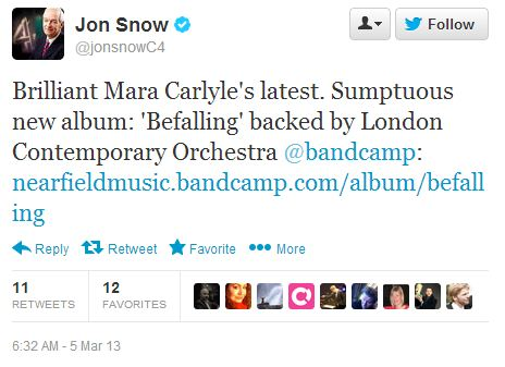 Jon Snow Mara Carlyle