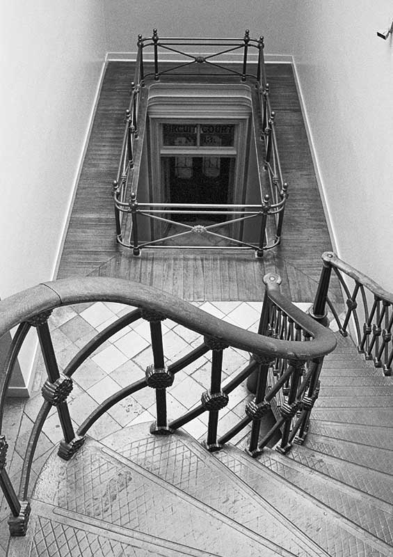 Old Courthouse Stairs, St. Louis