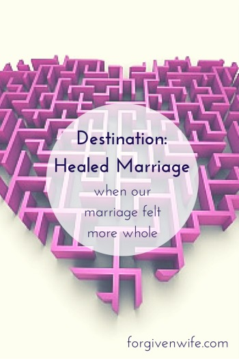Something that began as a selfish effort to change my husband had become a journey that had changed me.