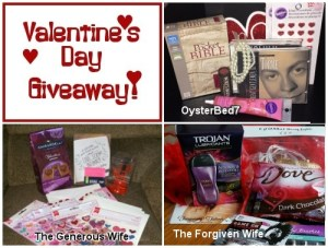3 Valentine's Day Giveaways!