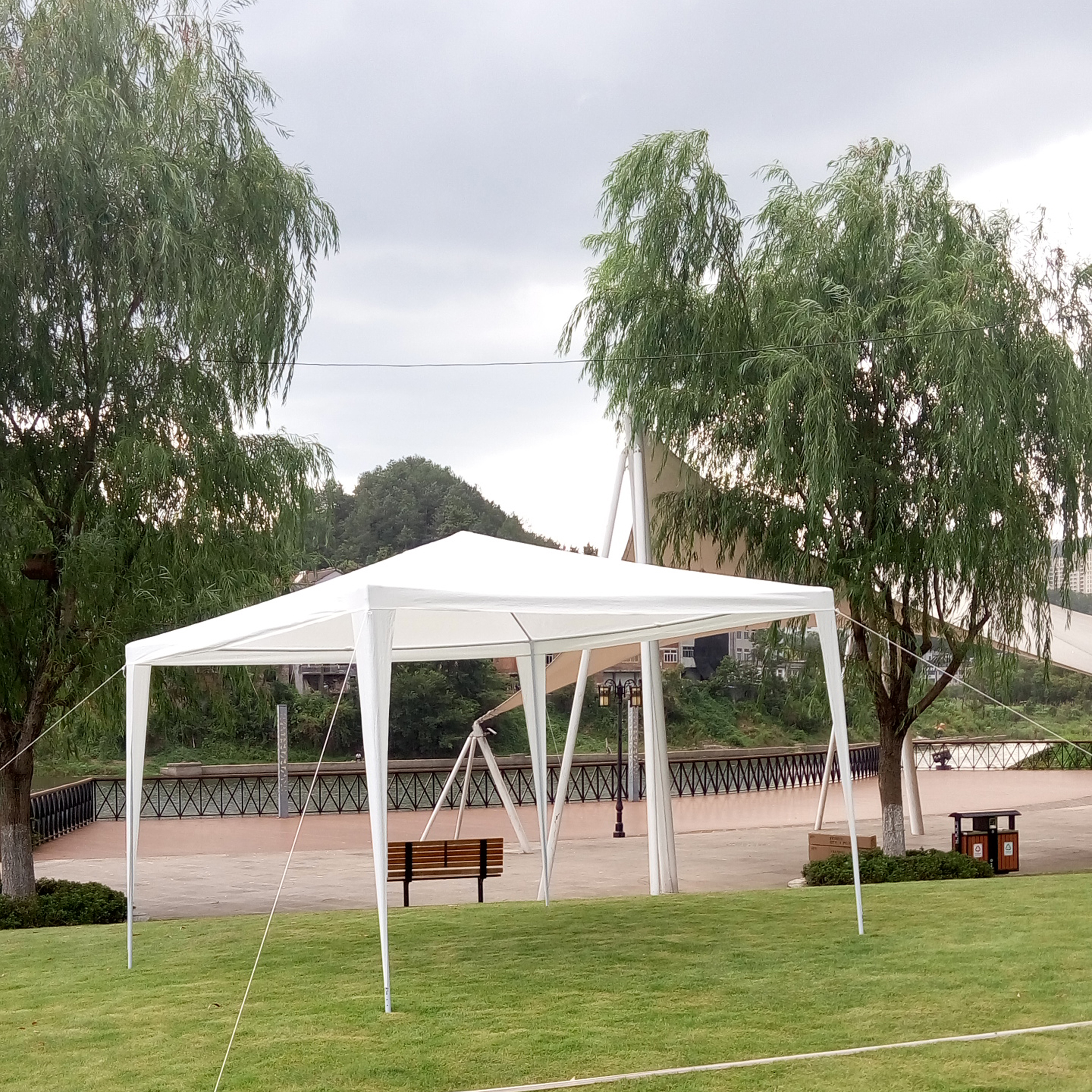 Gazebo Awning 3mx3m Pe Garden Gazebo Marquee Canopy Awning Party Wedding