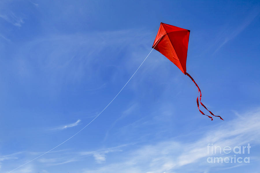 Simple Fall Hd Wallpaper Kite In The Sky Forgottenmeadows