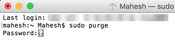 Cara Mempercepat Mac Anda Menggunakan Purge Command
