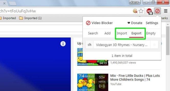 Cara Blokir Saluran Video YouTube