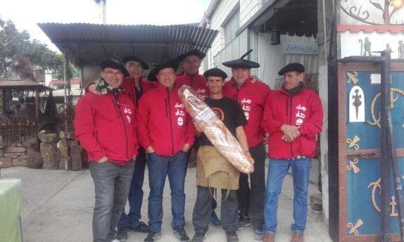 Camino y pan