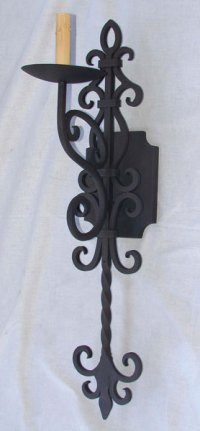 Toledo Spanish Revival Sconce, Spanish Sconces - Forja ...