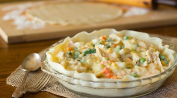 Delicious Dinner Recipes - Homemade Chicken Pot Pie is a Family Favorite