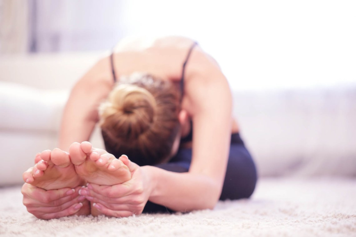 How to Relieve Stress, Yoga for Moms