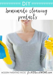 DIY Homemade Cleaning Products How to Make Your Own
