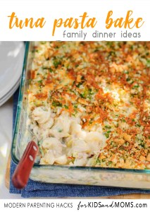Tuna Pasta Casserole Bake Recipe Family Dinner Ideas