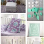 Nursery Design – Mint and Lilac Nursery Ideas and Inspiration