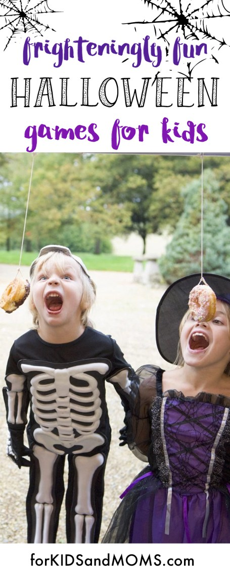 Halloween Games for Kids Pinterest Ideas forkidsandmoms.com @forkidsandmoms