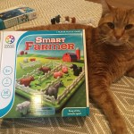 Smart Farmer meets Giant Cat