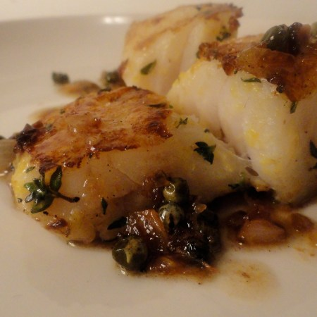 Brown Butter Cod